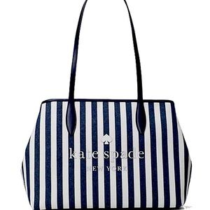 New Kate Spade street tote small side snap